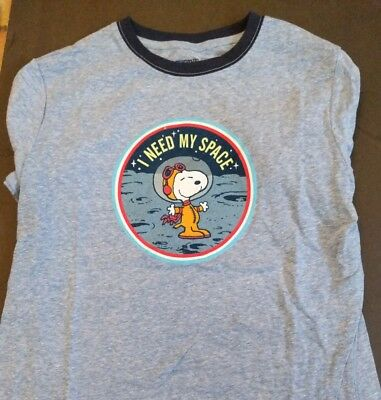 SDCC 2018 Comic Con Peanuts Snoopy Astronaut Youth Medium I need my space