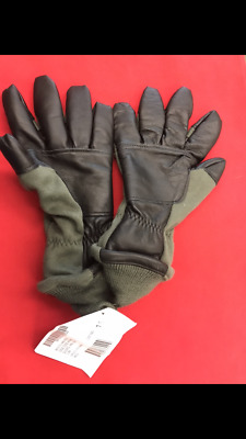 US Military Issued Intermediate Cold Weather Flyers Gloves Size 7