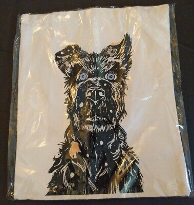 SDCC 2018 Comic Con Isle of Dogs Tote Canvases Bag Fox 13x16