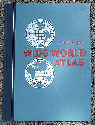 Reader's Digest WIDE WORLD ATLAS © 1984