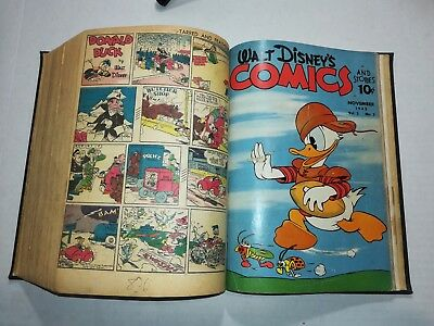 Walt Disney's Mickey Mouse Bound Comic Book Collection. Volume #3 1-of-a-kind