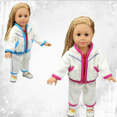 Baby Born Jacket Coat Set For 18'' American Girl Doll's Clothes Toys Accessories