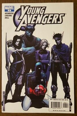 Young Avengers Comic Book #6, Marvel 2005, 1st App of Cassie Lang / Stature - NM
