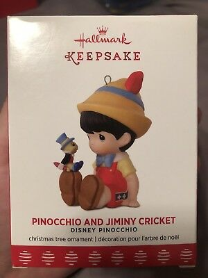 Hallmark Limited Edition Pinocchio & Jiminy Cricket