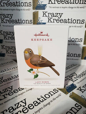 Hallmark 2018 Lady Robin Limited Edition