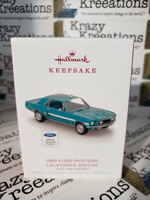 2018 Hallmark 1968 Ford Mustang California 50th Anniversary Limited Edition