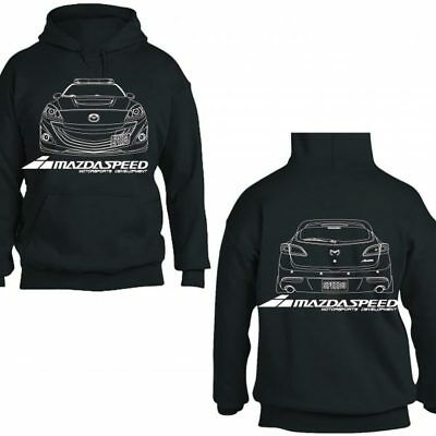 Mazda Mazdaspeed 3 6 Protege RX7 RX8 Miata Pullover Hoodie Jacket Hooded Sweater