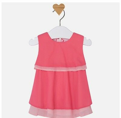 New Mayoral Baby Girl ruffle dress age 1-2 months 1843