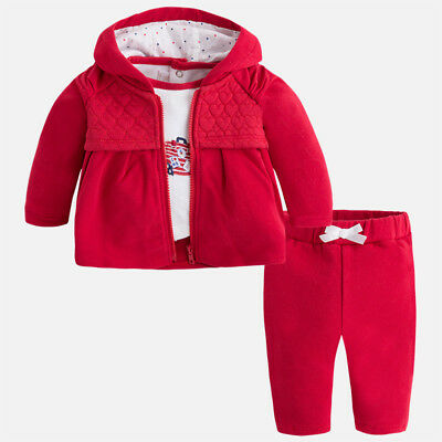 New Mayoral Baby Girl 3 piece tracksuit, age new born 2639