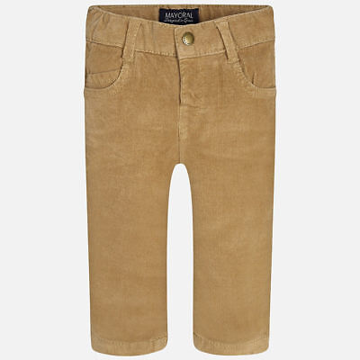 Mayoral 6 Month Baby boy corduroy long trousers slim fit 502 RRP £18