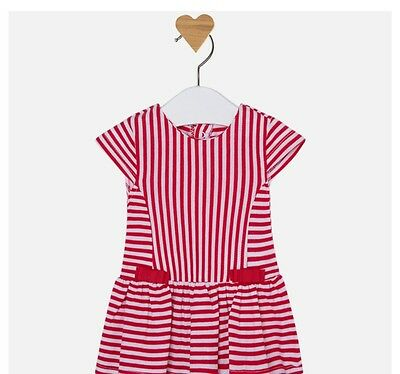 New Mayoral Baby Girl stripe dress age 1-2 months  1865