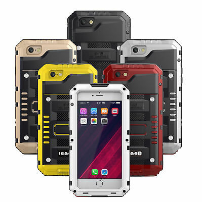Metal Phone Case Waterproof IP68 Fully sealed  Super Protective For iphone6/6s