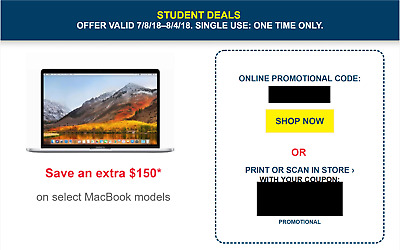 Best Buy Coupon - $150 off Select Mac Book Pro &ip@d