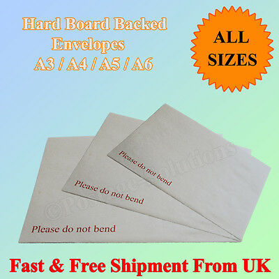 Hard Board Back Manila Envelopes Do Not Bend A3 A4 A5 A6  Quick Delivery CHEAPER