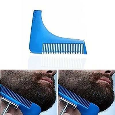Beard Comb - Facial Beard Shaping Trim Template