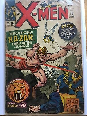 Uncanny X-Men 10, Good Condition