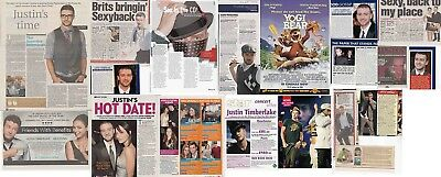 JUSTIN TIMBERLAKE : CUTTINGS COLLECTION -interviews-