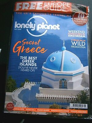Lonely Planet Magazine May 2018 (new) Plus Free Europe Guide