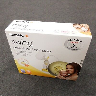 NEW Medela Swing Single Electric Breast Pump Sealed RRP£129 BNIB Fast Delivery