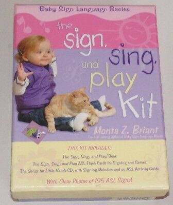 Baby Sign Language Basics: Sign, Sing and Play Kit by Monta Z. Briant - ede
