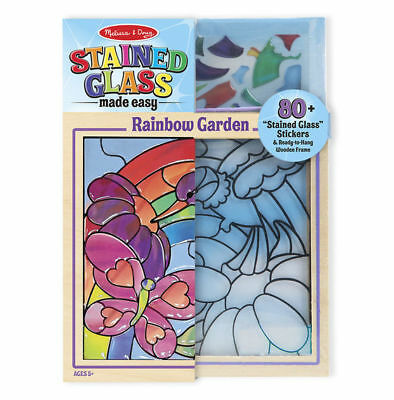 Melissa and Doug 14264 - Stained Glass Made Easy - Rainbow Garden - NEW!!