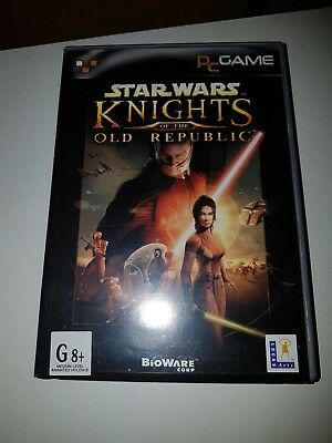 STAR WARS KNIGHTS OF THE OLD REPUBLIC PC CD ROM Game