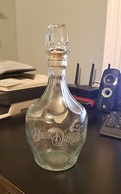 "Vintage Jack Daniels whiskey decanter ""The Mystery of the Belle of Lincoln"""