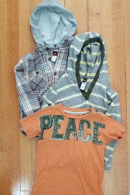 Tea Collection Boys long sleeve and short sleeve Shirt lot Sz 6