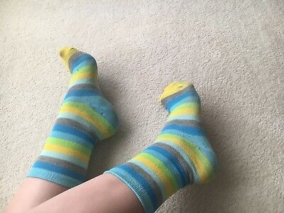 Used Women's Preowned socks striped