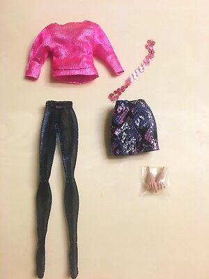 Integrity Toys Jem & The Holograms AJA LEITH Color Infusion Body Doll OUTFIT