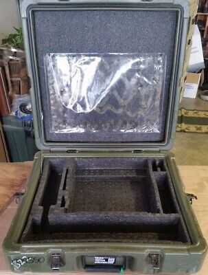 MILTOPE Briefcase Pelican Style MSD-V3 Military Surplus CASE Laptop 22x21x7 #2