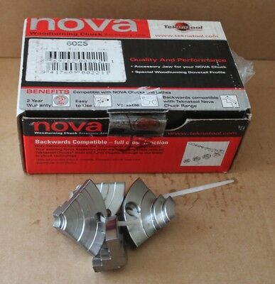 Woodturning - Nova Mini Step Jaws (6025) Brand New