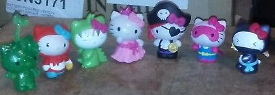 7 Hello Kitty Series 1 Costume Collection Figure Blind Bag 2 Inch NWP