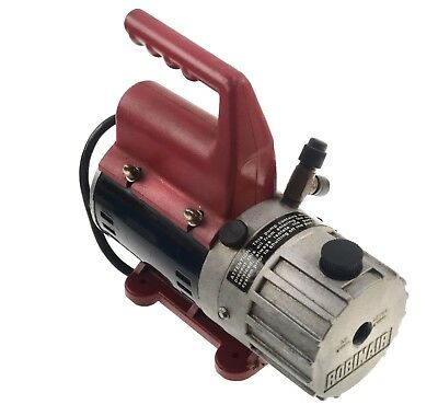 Robinair Vacuum Pump 2 Stage 1.2 CFM 15234 Air Conditioning Moulding Made in USA