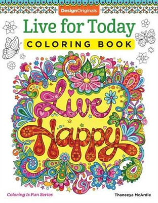 Mcardle, T-Live For Today Coloring Book  (Uk Import)  Book New