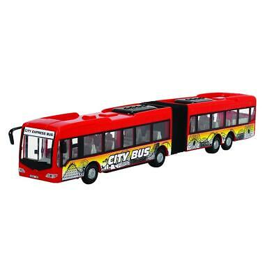 Dickie Toys 203748001 - City Express Bus, Gelenkbus, 46