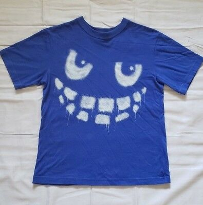 """the Children's Place Monster Face Short Sleeve T-Shirt"" -Size Large (10/12)"