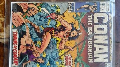 Conan The Barbarian #1 Bronze Age Marvel Comics 1st Appearance Of Conan vf