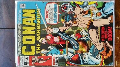 Conan the Barbarian #2 (Marvel, 1970) FN