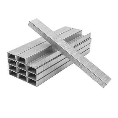 Premium 26/6 Chisel Point Standard Staples - Silver