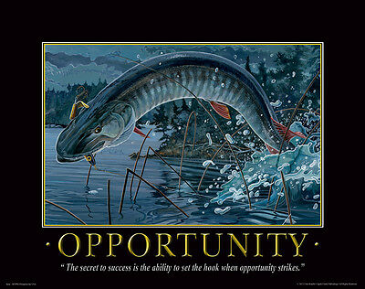 Fishing Motivational Poster Art  Antique Lures Reels Fly Rods Flies  MVP386