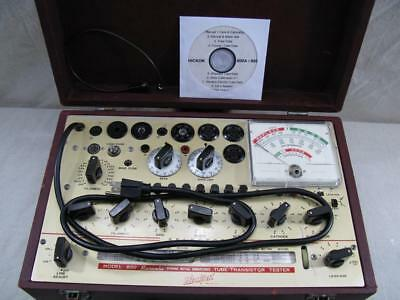 Hickok 800 Mutual Conductance Tube Tester - Calibrated - Good Specs *.*