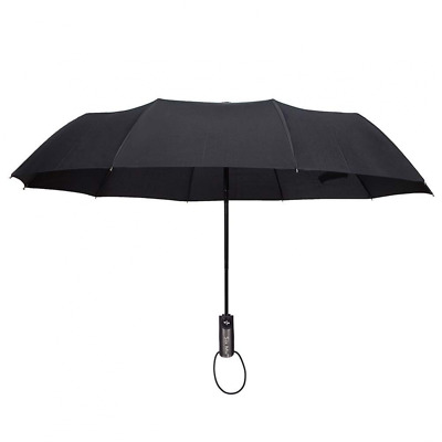 Auto Open Close Travel Umbrella Windproof Compact for Easy Carrying