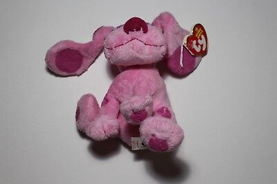 New Ty Beanie Babies Magenta From Blue's Clues - Mint With Mint Tags