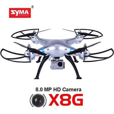 Syma X8G RC Quadcopter Drones with HD 8MP Camera Headless Mode With Battery
