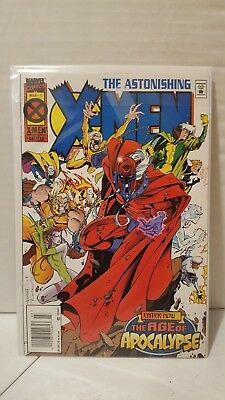 Astonishing X-Men #1,2,3,4 Vf/nm 9.0 Newsstand Variant Age Of Apocalypse