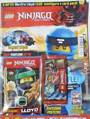 LEGO NINJAGO MAGAZINE COMIC ISSUE #34 ~ NEW SEALED WITH LEGO TOY ~ 2 x GIFTS