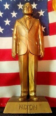 "RARE Marx GOLD Richard Nixon 37th President 2.75"" Figure WITH DATE 1969-"