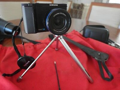 Extremely rare Minox German spy camera pocket tripod with shutter release case