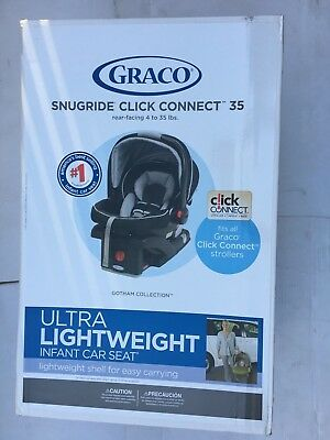 GRACO SNUGRID CLICK CONNECT 35 rear-facing 4 to 35 lbs